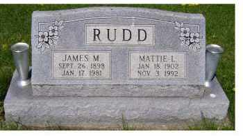 RUDD, JAMES M. - Adams County, Ohio | JAMES M. RUDD - Ohio Gravestone Photos