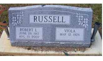 RUSSELL, ROBERT L. - Adams County, Ohio | ROBERT L. RUSSELL - Ohio Gravestone Photos