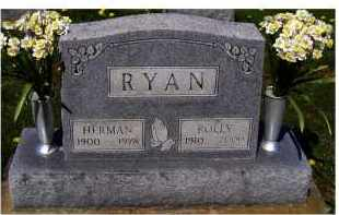 RYAN, POLLY - Adams County, Ohio | POLLY RYAN - Ohio Gravestone Photos
