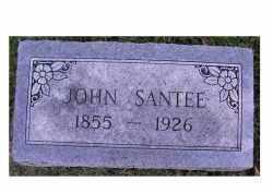 SANTEE, JOHN - Adams County, Ohio | JOHN SANTEE - Ohio Gravestone Photos