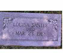 SANTEE, LOUISA - Adams County, Ohio | LOUISA SANTEE - Ohio Gravestone Photos