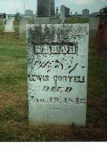 SARAH, CORYELL - Adams County, Ohio | CORYELL SARAH - Ohio Gravestone Photos