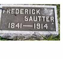 SAUTTER, FREDERICK - Adams County, Ohio | FREDERICK SAUTTER - Ohio Gravestone Photos