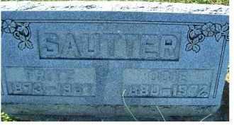 SAUTTER, FRITZ - Adams County, Ohio | FRITZ SAUTTER - Ohio Gravestone Photos