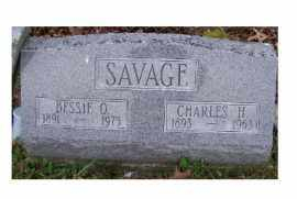SAVAGE, CHARLES H. - Adams County, Ohio | CHARLES H. SAVAGE - Ohio Gravestone Photos