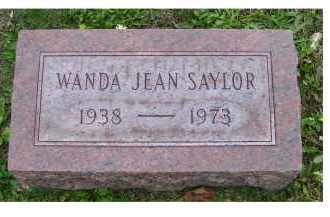 SAYLOR, WANDA JEAN - Adams County, Ohio | WANDA JEAN SAYLOR - Ohio Gravestone Photos