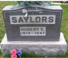 SAYLORS, HUBERT E. - Adams County, Ohio | HUBERT E. SAYLORS - Ohio Gravestone Photos