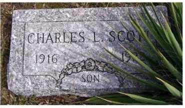 SCOTT, CHARLES L. - Adams County, Ohio | CHARLES L. SCOTT - Ohio Gravestone Photos