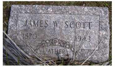 SCOTT, JAMES W. - Adams County, Ohio | JAMES W. SCOTT - Ohio Gravestone Photos
