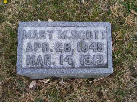 SCOTT, MARY M. - Adams County, Ohio | MARY M. SCOTT - Ohio Gravestone Photos