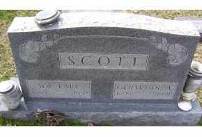 SCOTT, GERTRUDE A. - Adams County, Ohio | GERTRUDE A. SCOTT - Ohio Gravestone Photos