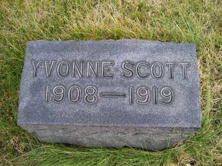 SCOTT, YVONNE - Adams County, Ohio | YVONNE SCOTT - Ohio Gravestone Photos