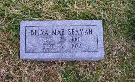 SEAMAN, BELVA MAE - Adams County, Ohio | BELVA MAE SEAMAN - Ohio Gravestone Photos
