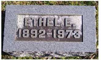 SEAMAN, ETHEL E. - Adams County, Ohio | ETHEL E. SEAMAN - Ohio Gravestone Photos