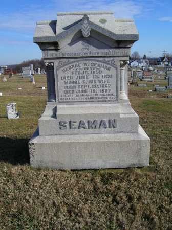 SEAMAN, MINNIE F. - Adams County, Ohio | MINNIE F. SEAMAN - Ohio Gravestone Photos