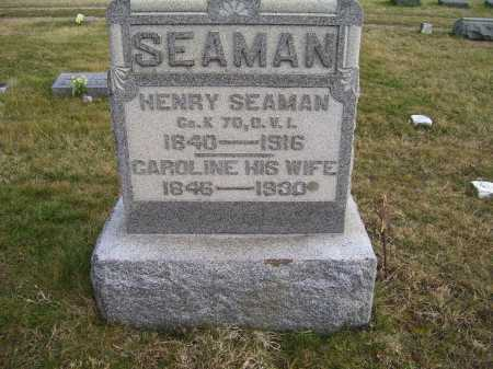 SEAMAN, HENRY - Adams County, Ohio | HENRY SEAMAN - Ohio Gravestone Photos