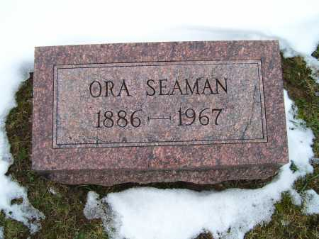 SEAMAN, ORA - Adams County, Ohio | ORA SEAMAN - Ohio Gravestone Photos