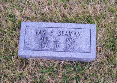 SEAMAN, VAN F. - Adams County, Ohio | VAN F. SEAMAN - Ohio Gravestone Photos