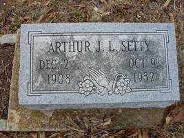 SETTY, ARTHUR - Adams County, Ohio | ARTHUR SETTY - Ohio Gravestone Photos