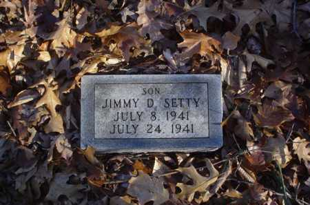 SETTY, JIMMY D. - Adams County, Ohio | JIMMY D. SETTY - Ohio Gravestone Photos