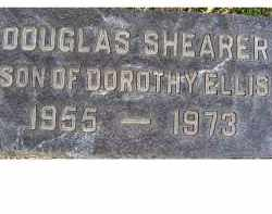 SHEARER, DOUGLAS - Adams County, Ohio | DOUGLAS SHEARER - Ohio Gravestone Photos