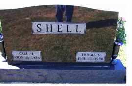 SHELL, THELMA G. - Adams County, Ohio | THELMA G. SHELL - Ohio Gravestone Photos