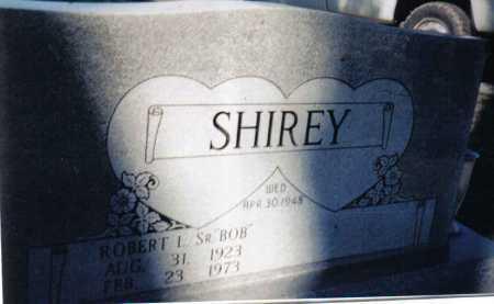 SHIREY, ROBERT L. SR. - Adams County, Ohio   ROBERT L. SR. SHIREY - Ohio Gravestone Photos