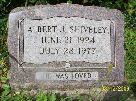 SHIVELEY, ALBERT J - Adams County, Ohio | ALBERT J SHIVELEY - Ohio Gravestone Photos