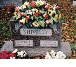 SHIVELEY, GARNET R. - Adams County, Ohio | GARNET R. SHIVELEY - Ohio Gravestone Photos