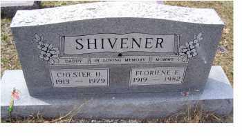 SHIVENER, FLORENCE E. - Adams County, Ohio | FLORENCE E. SHIVENER - Ohio Gravestone Photos