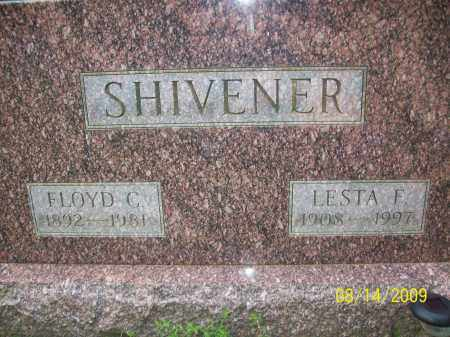 SHIVENER, LESTA F - Adams County, Ohio | LESTA F SHIVENER - Ohio Gravestone Photos
