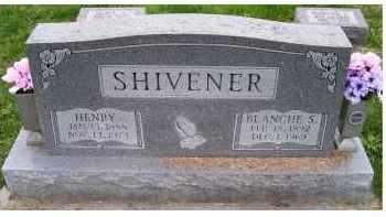 SHIVENER, HENRY - Adams County, Ohio | HENRY SHIVENER - Ohio Gravestone Photos