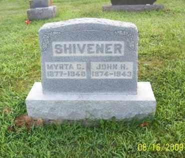SHIVENER, MYRTA C - Adams County, Ohio | MYRTA C SHIVENER - Ohio Gravestone Photos