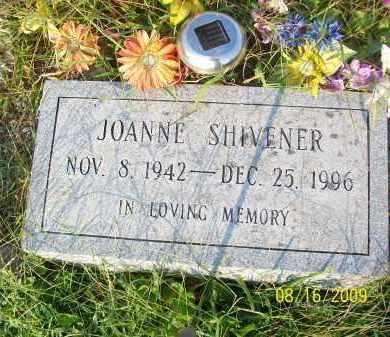 SHIVENER, JOANNE - Adams County, Ohio | JOANNE SHIVENER - Ohio Gravestone Photos