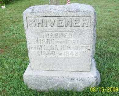 SHIVENER, WILLIAM CASPER - Adams County, Ohio | WILLIAM CASPER SHIVENER - Ohio Gravestone Photos