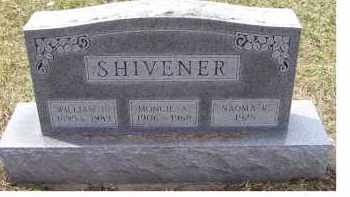 SHIVENER, MONCIE A. - Adams County, Ohio | MONCIE A. SHIVENER - Ohio Gravestone Photos