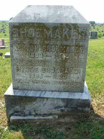 SHOEMAKER, MYRTLE - Adams County, Ohio | MYRTLE SHOEMAKER - Ohio Gravestone Photos