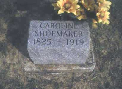 SHOEMAKER, CAROLINE - Adams County, Ohio | CAROLINE SHOEMAKER - Ohio Gravestone Photos