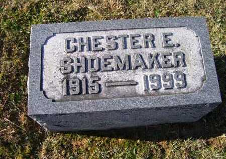 SHOEMAKER, CHESTER E. - Adams County, Ohio | CHESTER E. SHOEMAKER - Ohio Gravestone Photos
