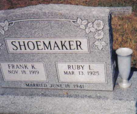 GARMAN SHOEMAKER, RUBY L. - Adams County, Ohio | RUBY L. GARMAN SHOEMAKER - Ohio Gravestone Photos