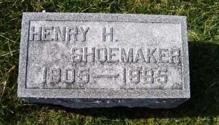 SHOEMAKER, HENRY H. - Adams County, Ohio | HENRY H. SHOEMAKER - Ohio Gravestone Photos