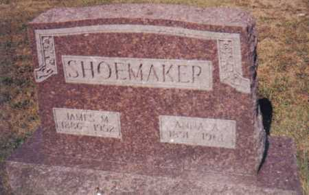 SHOEMAKER, JAMES M. - Adams County, Ohio | JAMES M. SHOEMAKER - Ohio Gravestone Photos