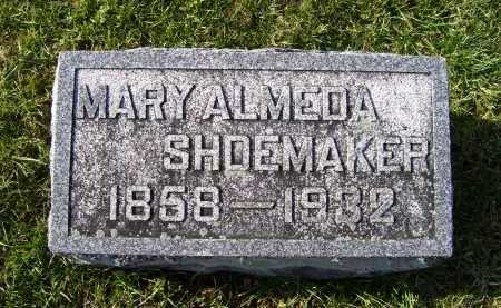 SHOEMAKER, MARY ALMEDA - Adams County, Ohio | MARY ALMEDA SHOEMAKER - Ohio Gravestone Photos