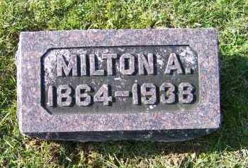 SHOEMAKER, MILTON A. - Adams County, Ohio   MILTON A. SHOEMAKER - Ohio Gravestone Photos