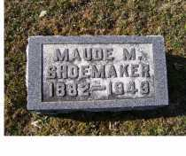 SHOEMAKER, MAUDE M. - Adams County, Ohio | MAUDE M. SHOEMAKER - Ohio Gravestone Photos