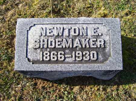 SHOEMAKER, NEWTON E. - Adams County, Ohio | NEWTON E. SHOEMAKER - Ohio Gravestone Photos