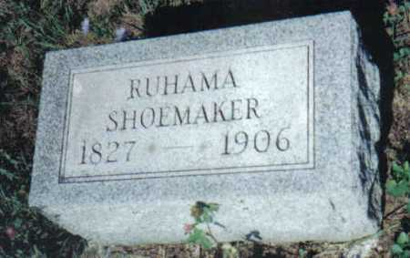 SHOEMAKER, RUHAMA - Adams County, Ohio | RUHAMA SHOEMAKER - Ohio Gravestone Photos