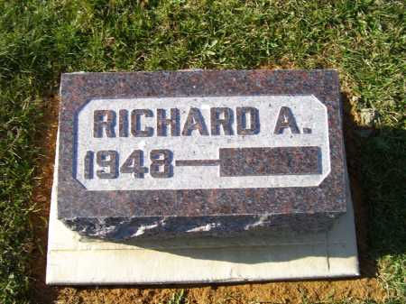 SHOEMAKER, RICHARD A. - Adams County, Ohio | RICHARD A. SHOEMAKER - Ohio Gravestone Photos