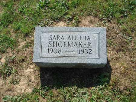SHOEMAKER, SARA ALETHA - Adams County, Ohio | SARA ALETHA SHOEMAKER - Ohio Gravestone Photos