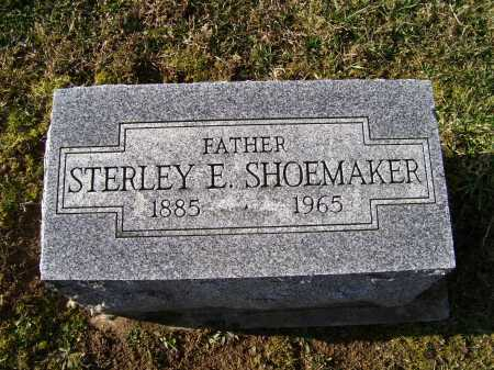 SHOEMAKER, STERLEY E. - Adams County, Ohio | STERLEY E. SHOEMAKER - Ohio Gravestone Photos